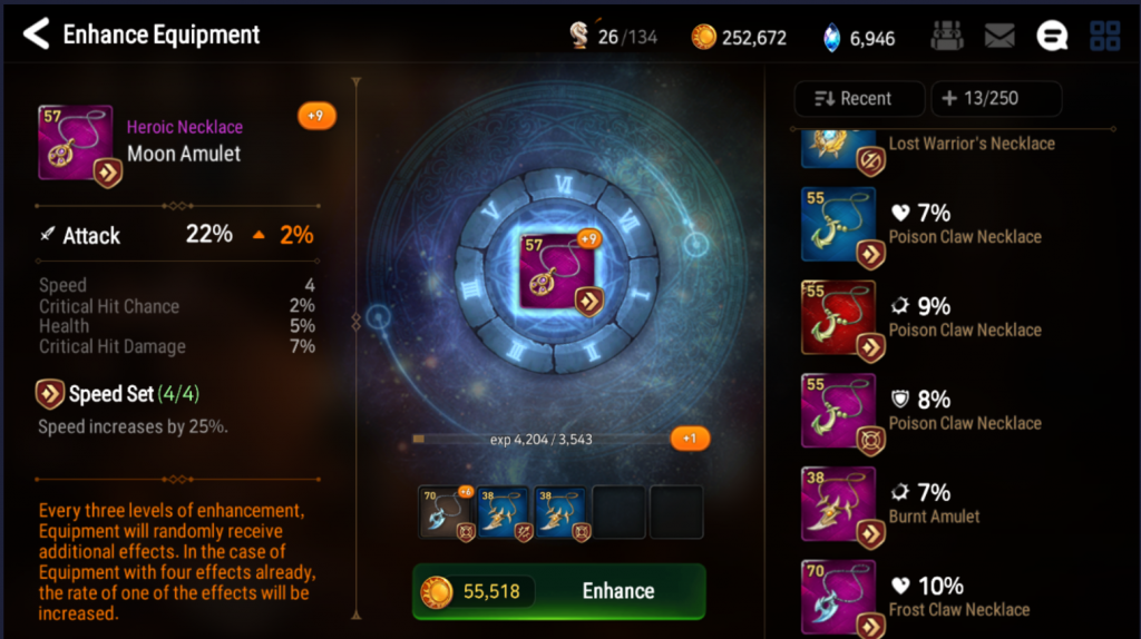 Epic Seven Equipment Guide Gearing And Enhancing Recommendations Epic Seven Wiki For Beginners